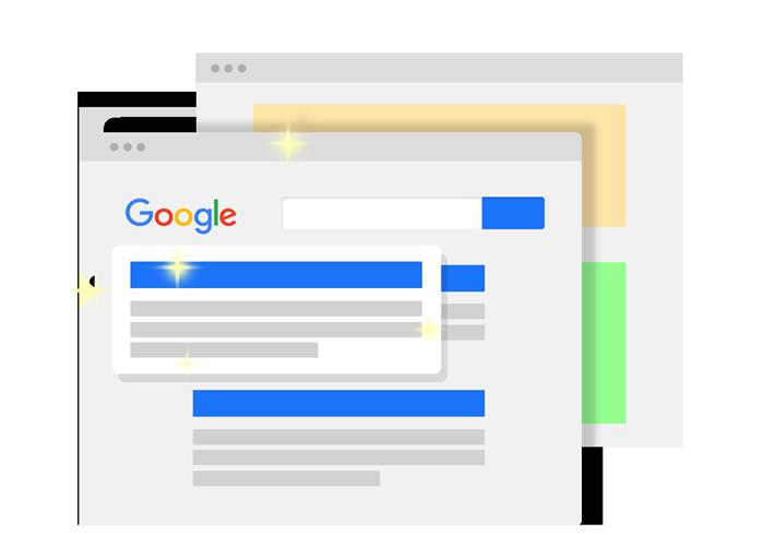 Landingsside og Google Ads for mindre virksomheder